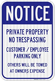 Best private parking lot signs Reviews