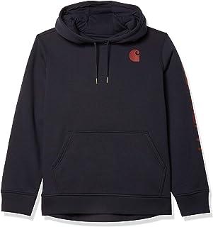 Carhartt Women`s Clarksburg Graphic Sleeve Pullover Sweatshirt (Regular and Plus Sizes)