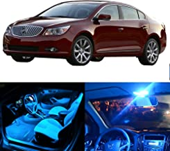 SCITOO LED Interior Lights 11pcs Ice Blue Package Kit Accessories Replacement Fits for 2010-2016 Buick Lacrosse
