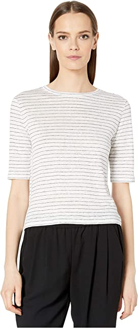 44e74601c Vince Broomstick Pleat Elbow Sleeve at Zappos.com