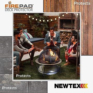 Amazon Com Newtex Firepad Deck Protector