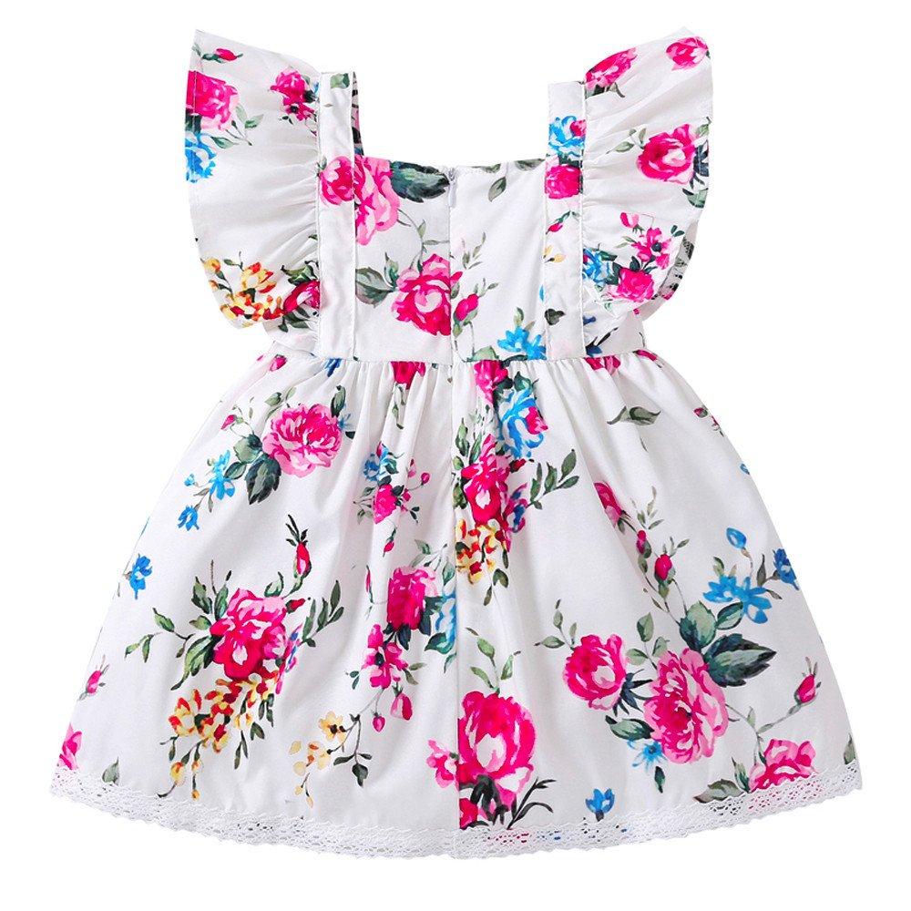 Buy Iuhan Baby Dress Newborn Infant Baby Girl Summer Floral