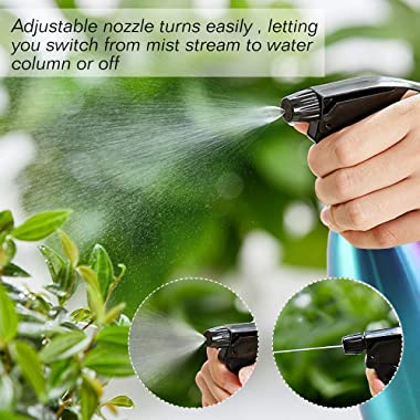 FANHAO Plant Spray Bottle, Stainless Steel Watering Can Plant Sprayer Indoor Outdoor Plant Mister for Garden, Plants, Cleanin