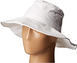 Hat Attack Canvas Sunhat with Adjustable Sizing and Wire in Brim