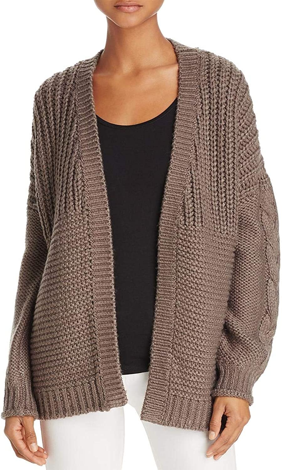 Beltaine Womens Oversized OpenFront Cardigan Sweater