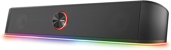 Trust Gaming GXT 619 Thorne Soundbar illuminata RGB - Casse PC, Speakers, Altoparlanti Stereo con Illuminazione RGB...