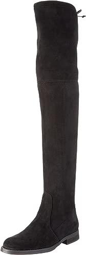 Damen 2870 Micro Strech Langschaft Stiefel, Schwarz (schwarz 01), 37 EU