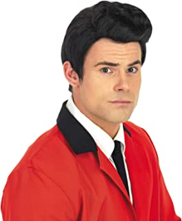 Mens Music Wigs Adults Musical Icons Decades Party Hair Costume Accessories