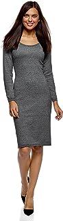 oodji Ultra Women's Wide Neck Knit Dress