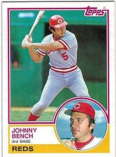 1983 Topps Cincinnati Reds Team Set with 2 Johnny Bench & 2 Tom Seaver - 29 MLB Cards