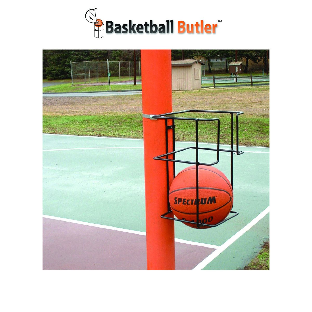 Basketball Butler Ball Storage Rack