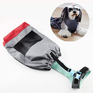 Lovinouse Drag Bag for Paralyzed Pets, Breathable Wear-Resisting Dog Protect Bag Anti-Scratch Auxiliary Project, Walking Drag Bag for Chest Limbs of Disabled Pets