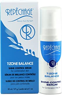 Repechage T-Zone Balance Shine Control Serum – For Combination/Oily Skin Types – The Ultimate Hydrating & Balancing Solution – Beautiful Even Looking Mattifying Finish On Face - 1 fl. oz. /29 ml