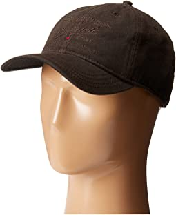 Woolrich - Oil Cloth Ball Cap with Embroidery
