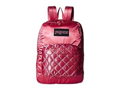 JanSport Super FX (Slate Rose Diamond Quilting) Backpack Bags