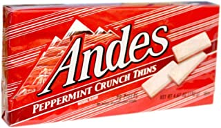 Andes Peppermint Crunch Thins , 6 Boxes (28 in Each Box)