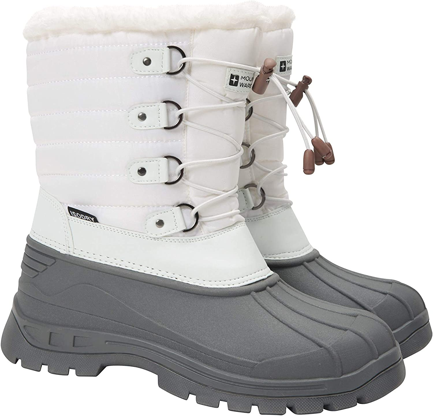 Mountain Warehouse Whistler Womens Snow Boots - Ladies Winter Shoes