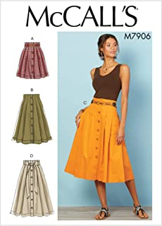 McCall's M7906 Misses' Skirts Sz 14-22 Sewing Pattern