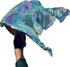 Nahari Silks 100% Silk Hand-dyed Scarves in Unique Blends & Solids