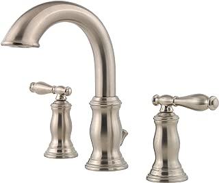 Pfister F049TMKK Hanover 2-Handle 8 Inch Widespread Bathroom Faucet in Brushed Nickel