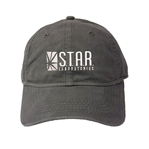 san francisco 7c158 8c19c Adjustable Charcoal Adult Star Labs Embroidered Deluxe Dad Hat