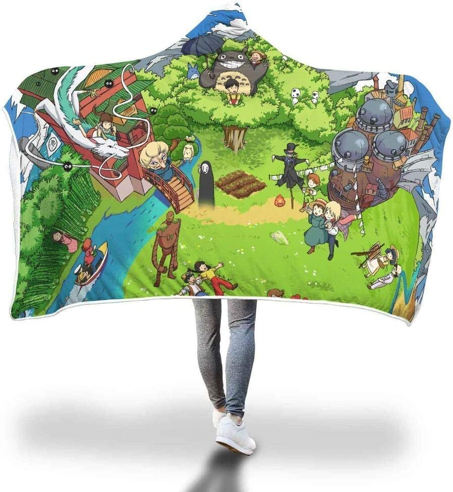 Personalized Green Max 74% OFF Planet Hooded Blanket Ultra-Cheap Deals Wearable Throw