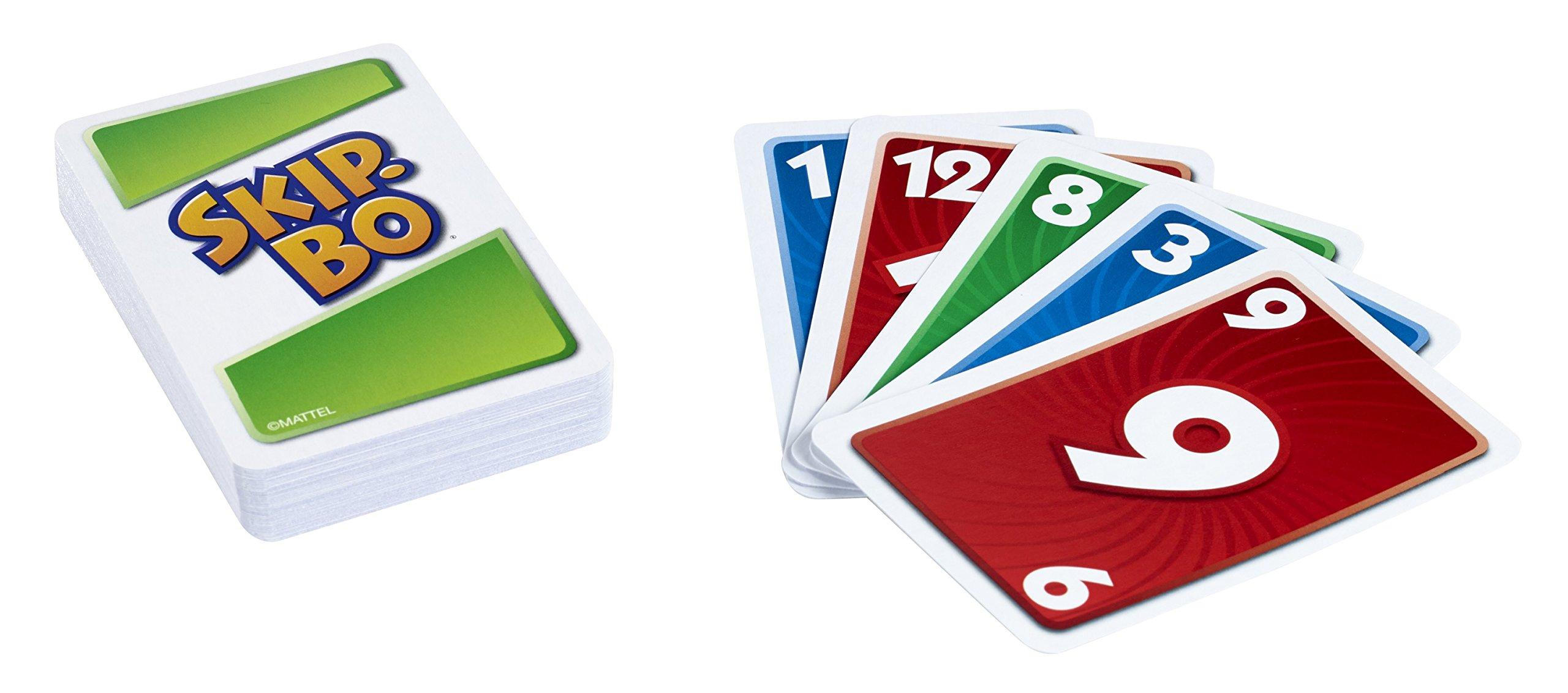 Mattel Skip-bo - Juego de cartas: Skip-bo Card Game: Amazon.es: Electrónica