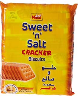 Nabil Sweet & Salt Cracker Biscuits, 12 x 50 gm