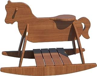 Wooden Rocking Horse Plans DIY Playroom Baby Rocker Toddler Kids Riding Toy