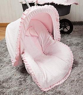 Babyline Love - Colchoneta para silla grupo 0, color rosa