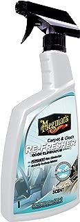 Meguiar's G180724 Carpet & Cloth Re-Fresher Odor Eliminator Spray, Fresh New Car Smell, 24 Fluid Ounces