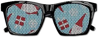 Christmas Holiday Danish Modern Santa Full Resin Frame Sunglasses for Men Mens Sunglasses Driving Rectangular Sun Glasses for Men/Women