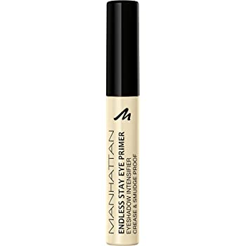 Manhattan Endless Stay Eye Primer – Wasserfeste Lidschatten-Grundierung für langanhaltendes Make-up ohne Verschmieren – Farbe Transparent 1 – 1 x 6ml