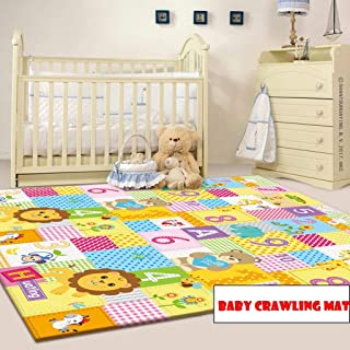Baby Play Mat Large Reversible Playmat Infant Blanket Crawling Mat 200 * 180cm Baby Playmats for Playing or Crawling Blank...