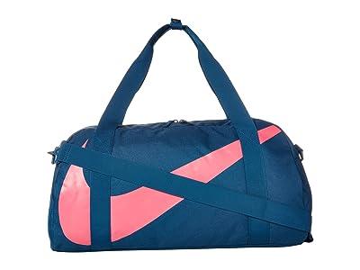 Nike Kids Gym Club Duffel Bag (Little Kids/Big Kids) (Valerian Blue/Valerian Blue/Watermelon) Duffel Bags