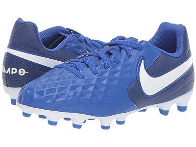 Nike Kids Jr Legend 8 Club FG/MG Soccer (Toddler/Little Kid/Big Kid) (Hyper Royal/White/Deep Royal Blue) Kids Shoes