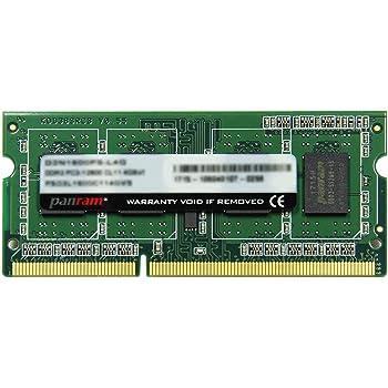 CFD販売 ノートPC用 メモリ PC-12800(DDR3-1600) 8GB×1枚 1.5V対応 204pin SO-DIMM (無期限保証)(Panram) D3N1600PS-8G