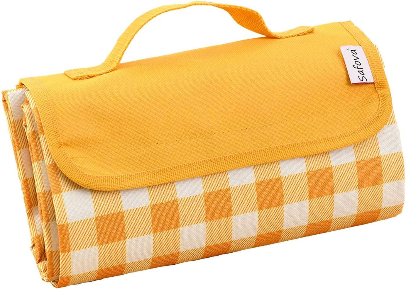 Picnic Blanket 79''x57'' Large Beach Denver Mall Mat f Gifts Sandproof Waterproof