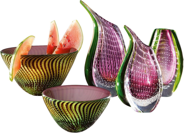 Rosenthal Dewdrop vert-violet Vase 24 cm 61180-331200-47024