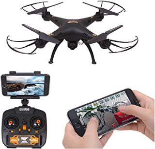 Amitasha Remote Control 360° Flip Camera Drone Flying WiFi Quadcopter - Multicolour