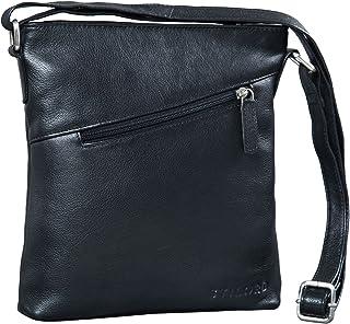 STILORD 'Stella' Vintage Handtasche Damen Leder klein zum Umhängen Schultertasche für Freizeit Shopping Abend Tablettasche...