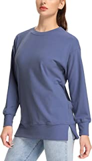 SEVEGO Women's Soft Pullover Sweatshirt Thermal Long Sleeve Crewneck Shirts Warm Casual Lounge Tops