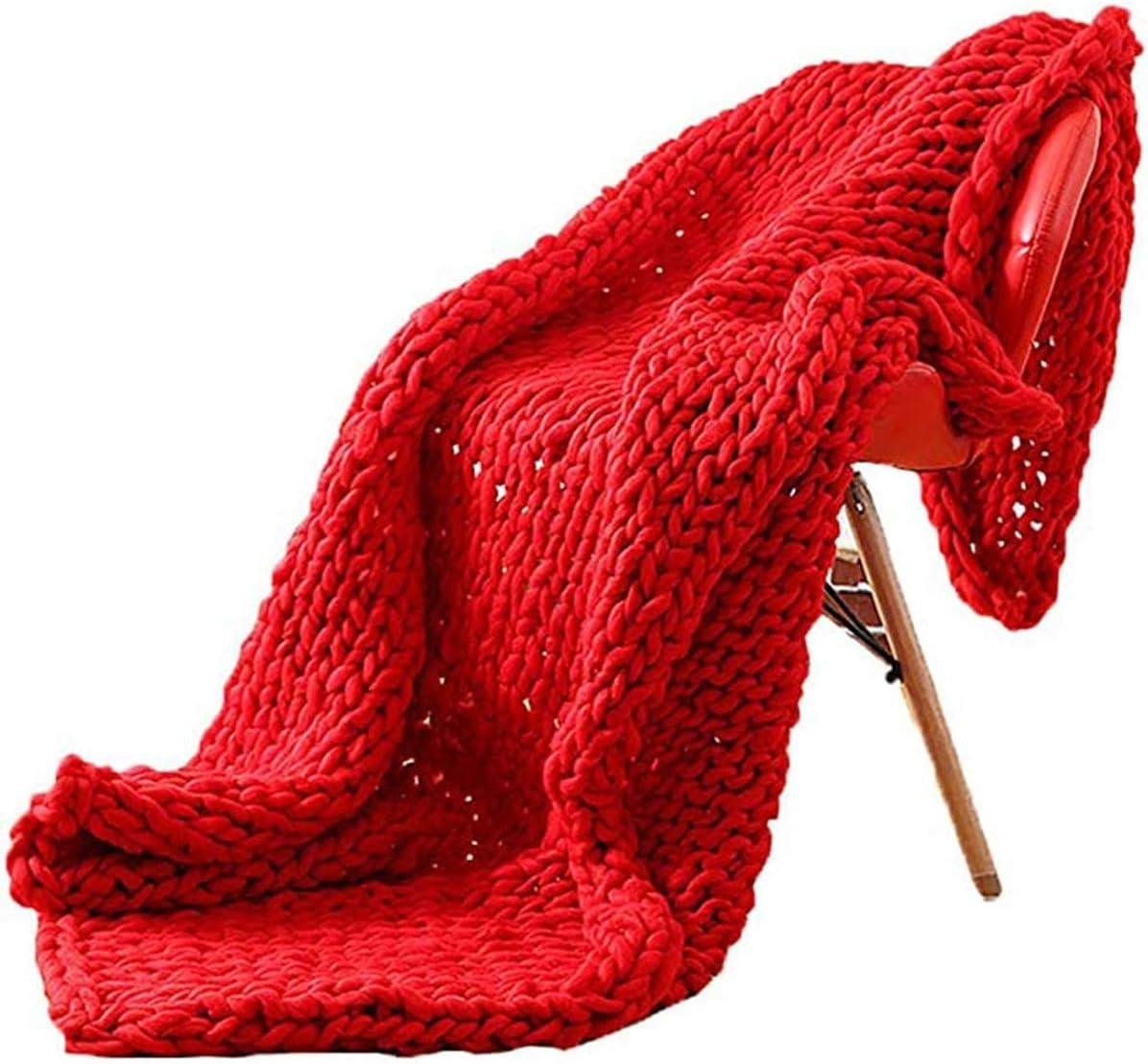 Overseas parallel import regular item GUOYUN Large Soft Chunky Knit Handmade special price Bla Knitting Blanket Yarn