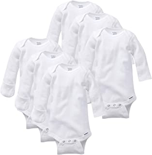 Baby 3-Pack Or 6-Pack Long-Sleeve Mitten-Cuff Onesies Bodysuit