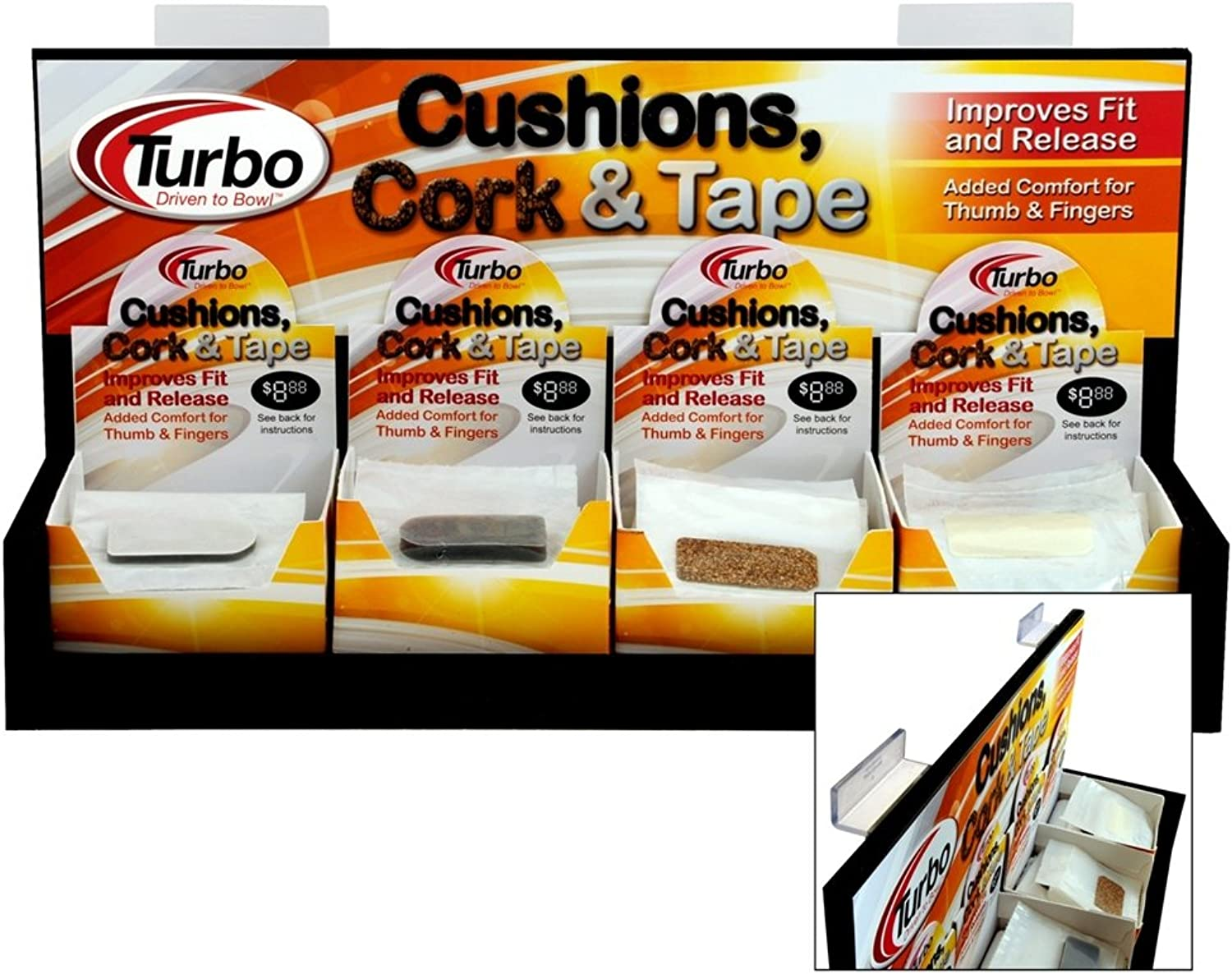 Bowlerstore Products Turbo Shur Cushion 1 8 Inch 20 Count