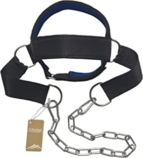 Eamber Neck Harness Head Harness Weight Neck Strength Exercise Strap Weight Lifting Weight Training Gym (Head Harness)