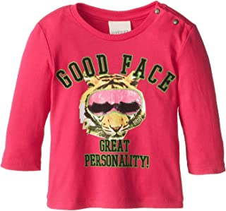 Diesel Baby-Girls Newborn Tagib Long Sleeve Good Face Great Personality T-Shirt