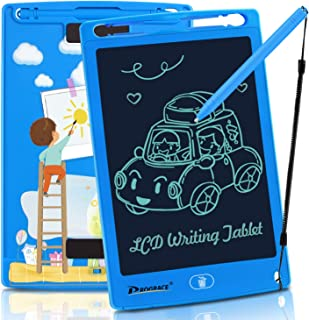 PROGRACE LCD Writing Tablet for Kids Learning Writing Board Magnetic Erase LCD Writing Pad Smart Doodle Drawing Board for Home School Office Portable Electronic Digital Handwriting Pad 8.5