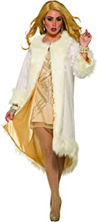 Women's Faux White Fur Coat