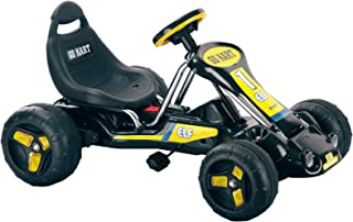 Ride On Toy Go Kart, Pedal Powered Ride On Toy by Lil' Rider  – Ride On Toys for Boys and Girls, For 3  – 7 Year Olds (Black)